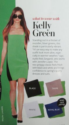 Instyle Color Crash Course - Kelly Green