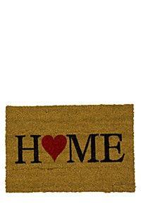 HOME HEART 40X60CM DOORMAT