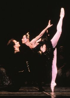 NBC Latino — Celebrating women: Prima ballerina Evelyn Cisneros of SF Ballet as Odile with Anthony Randazzo, her long-time onstage partner, in Helgi's 1st SFB Swan Lake! Everybody thought she was the best temptress of an Odile ever (she seduced everyone in the house!)