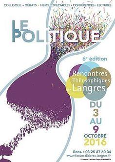 6e édition des Rencontres Philosophiques de Langres qui aura lieu du 3 au 9…