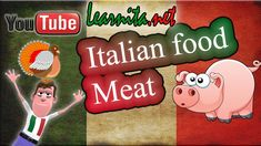 Italian food names -  Meat - Learn italian language