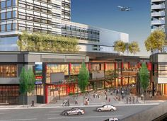 Marine Gateway aims to create a new neighbourhood centre that provides convenient and walkable retail, service & amenities.  Marine Gateway | Perkins + Will
