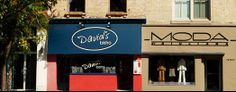 if you like great food, wine, service and value, you must visit David's bistro in London Ontario. The menu changes regularly, and I recommend the 'trust me' menu.you won't be disappointed. London Restaurants, Great Restaurants, Places To Eat, Ontario, Great Recipes, Disappointed, Trust, Menu, David