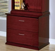 Mendocino Two Drawers Cherry File Cabinet
