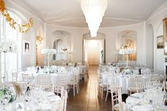 Reception room at Aynhoe Park Reception Rooms, Wedding Reception, Aynhoe Park, Fine Art Wedding Photography, Park Weddings, Table Settings, Table Decorations, Home Decor, Painting