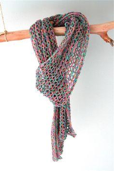 Luchtig gehaakte sjaal Jellie – Cuddlycool