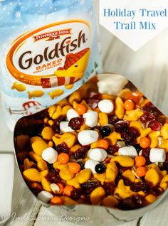 Fun Travel Goldfish Trail mix fun