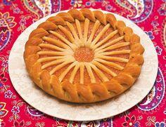 Пирог сладкий с абрикосовым джемом