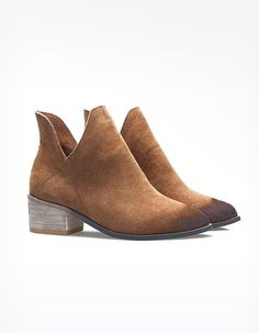 Kennedy Cutout Ankle Boots