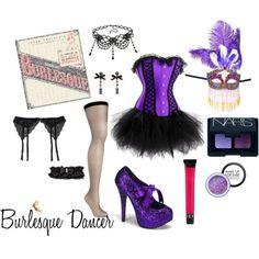 Burlesque Dancer for Halloween #costume #dressup #halloween