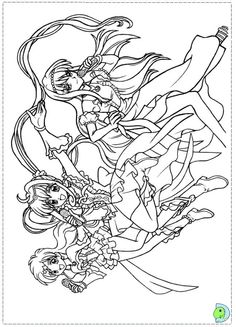 Coloring page Colouring Pages Pinterest Mermaid melody