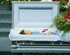 Corey Haim Funeral Open Casket