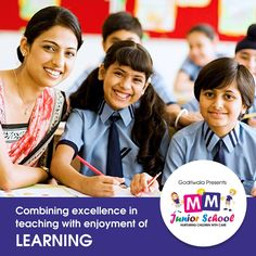The school offers a secure, happy and stimulating environment which aims to combine excellence in teaching with enjoyment of learning.  #MMJuniorSchool #Nursary #Kindergarten #PlaySchool
