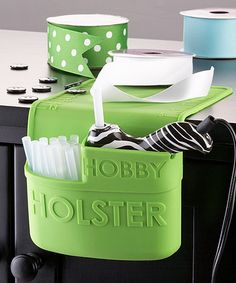 Another great find on #zulily! Green Hobby Holster #zulilyfinds