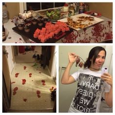 The Walking Dead Premiere Party - Zombie Party