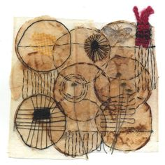 don't forget the best (Ines Seidel) Tags: embroidery circles yarn round stitching recycle recycling weaving teabag reuse sticken nhen teebeutel weben Tea Bag Art, Tea Art, Textiles, Coffee Filter Art, Coffee Filters, Used Tea Bags, Wooly Bully, Arts And Crafts, Paper Crafts