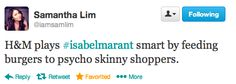 The Best Tweets from The H&M x Isabel Marant Editor Preview