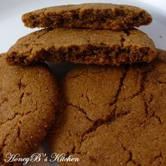 Ginger Cookies from Cooking Light