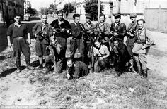 Benjamin Levin, 89, was a Jewish partisan fighter in WWII Lithuania at 14 (seen kneeling in this photo).