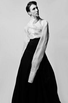 sheer shirt & trousers by AsiaWysoczyńska | fooriat.com  PRZEMYSŁAW PASZKOWSKI // STYLIST FROM POLAND