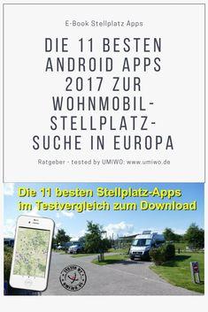 Wohnmobilstellplätze einfach per Smartphone und Tablet PC finden
