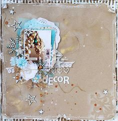 Keep your decorating ideas in a lovely scrapbook you made yourself.