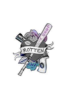 Harley Quinn Rotten Sticker