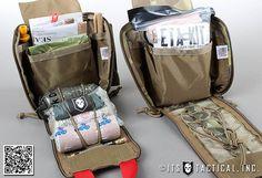 ETA Trauma Kit Pouch by ITS Tactical and Zulu Nylon Gear