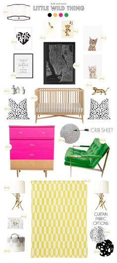 We love this animal print nursery by @Joni Wells Wells Lay / Lay Baby Lay! Read more on Style Spotters: http://www.bhg.com/blogs/better-homes-and-gardens-style-blog/