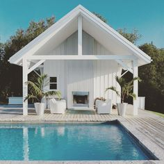 Find top outdoor design and landscaping ideas from experts to elevate your backyard, garden, patio or porch this spring and summer. Pergola Patio, Pergola Ideas, Corner Pergola, Patio Ideas, Pool Ideas, Pergola Plans, Pool Gazebo, Rustic Pergola, Pergola Cover