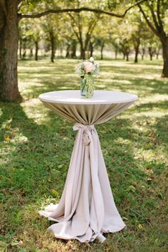 tall cocktail tables with tablecloths - Google Search