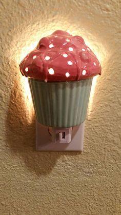 Cupcake nachtlicht Kinderzimmer Wallmount von Angelheartdesigns