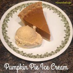 pumpkin pie ice cream #sharethejoyofpie #ad