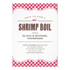 Shrimp Boil Invitations In our offer link above you will seeDeals          	Shrimp Boil Invitations today easy to Shops & Purchase Online - transferred directly secure and trusted checkout...