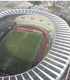 Stadio Bentegodi_Verona Verona, Solar Power, Technology, Architecture, Italia, Tech, Arquitetura, Solar Energy, Tecnologia