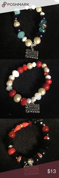 "Charm ""Nurses Call The Shots"" custom Will make any color And size Jewelry Bracelets"