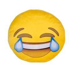 Almofada Emoji Gargalhada - 40 x 40 x 6 cm