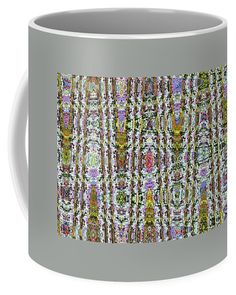 Gerbe In Waves Abstract Coffee Mug featuring the photograph Gerbe In Waves Abstract by Tom Janca
