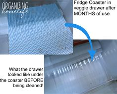 Organizing Your Fridge and a Fridge Coasters Giveaway ~ Organize your Kitchen Frugally Day 25