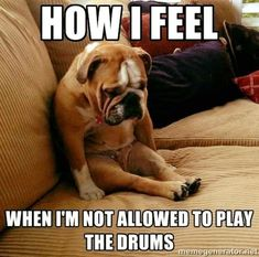 Gotta have some humor in the drumming world!
