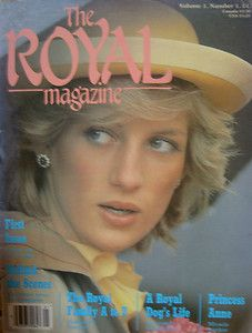 1st Royal Magazine Vol. 1, Number 1 Princess Diana Royal Family Queen Elizabeth