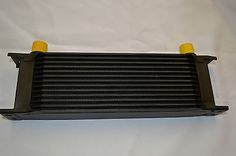 UNIVERSAL ALUMINIUM 12 ROW ENGINE GEARBOX TRANSMISSION OIL COOLER in Engine Tuning Parts | eBay
