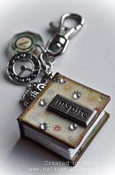 love these little book charms