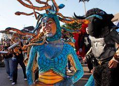 Carnaval de Barranquilla: Medusa