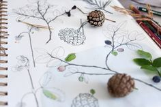 Artist aims to preserve her local forest by crafting linocut stamps of nature | Creative Boom