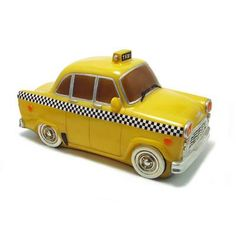 Yellow Taxi Table Lamp