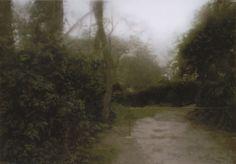 """Gerhard Richter, """"Garden Path"""", 1987, Catalogue Raisonné :  637-2. Imagen tomada de http://www.gerhard-richter.com"""