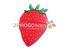 NEW: Promotional USB flash drive in design strawberry.