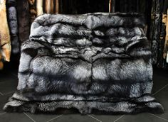 The perfect silver fox blanket