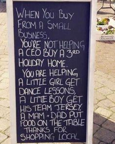 Something to consider... Share please!  #local #shopping  #sharingiscaring by 10thingstodo.in